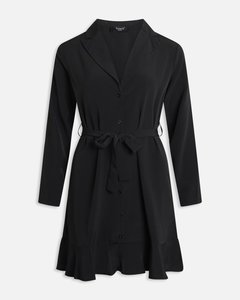 BLACK DRESS KNOOP